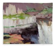 Beholding Palouse Falls Fleece Blanket