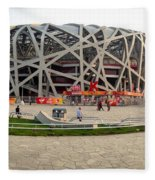 Beijing National Olympic Stadium Fleece Blanket