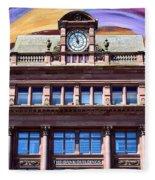 Belfast Architecture 9 Fleece Blanket