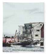 Belfast Tugs 2 Fleece Blanket
