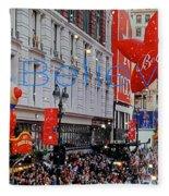 Believe Macys  Parade Fleece Blanket