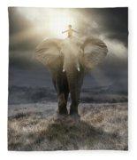 ..believe.. Fleece Blanket