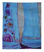 Bell Bottoms Fleece Blanket