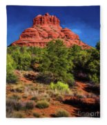 Bell Rock Dream Fleece Blanket