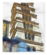 Bell Tower Fleece Blanket