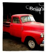 Bella's Ride Fleece Blanket