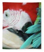 belle Ara Macao oiseaux tropicaux de Maui  Fleece Blanket