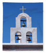Bells - San Xavier Del Bac - Arizona Fleece Blanket