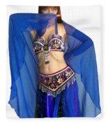 Belly Dance Modeling. Sofia Of Ameynra Fleece Blanket