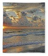 Beloved - Florida Sunset Fleece Blanket