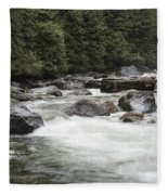 Below The Torrent   Fleece Blanket