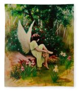 Beltaine Angel Fleece Blanket