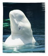 Beluga Whale Fleece Blanket