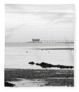 Bembridge Lifeboat Station From St Helens Fleece Blanket