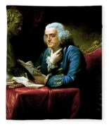 Ben Franklin Fleece Blanket