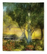 Bench - I Had This Dream And It All Began Fleece Blanket