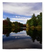 Bend In The River Fleece Blanket