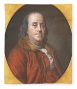 Benjamin Franklin Fleece Blanket