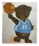 Benny Bear Basketball  Fleece Blanket