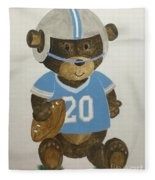 Benny Bear Football Fleece Blanket