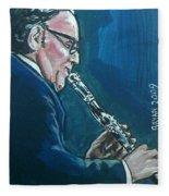Benny Goodman Fleece Blanket