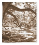 Bent Tree Fleece Blanket