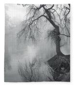Bent With Gentleness And Time Fleece Blanket