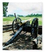 Bentonville Nc Confederate Artillery Fleece Blanket