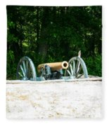 Bentonville Nc Confederate Line Fleece Blanket
