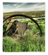Bereft On The Grasslands T Fleece Blanket