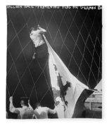 Berlin: Balloon Race, 1908 Fleece Blanket