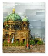 Berlin Cathedral Fleece Blanket