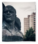 Berlin - Ernst-thaelmann-park Fleece Blanket