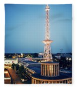 Berlin - Funkturm Fleece Blanket