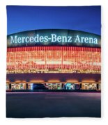 Berlin - Mercedes-benz Arena Fleece Blanket