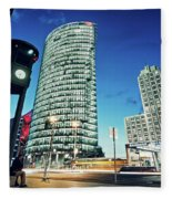 Berlin - Potsdamer Platz Fleece Blanket