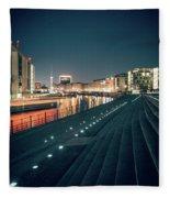 Berlin - Reichstagufer Fleece Blanket