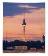 Berlin - Tempelhofer Feld Fleece Blanket