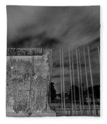 Berlin Wall  Fleece Blanket