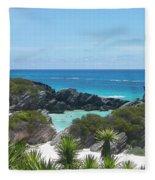 Bermuda Bliss Fleece Blanket