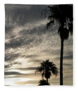 Bermuda Palms Fleece Blanket