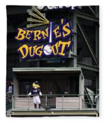 Bernies Dugout Fleece Blanket