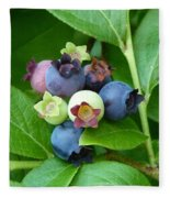 Berries Beautiful Fleece Blanket
