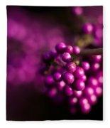 Berries Still Life Fleece Blanket