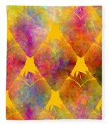 Berry Hearts - Food Pattern Fleece Blanket
