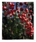 Berry Tree Fleece Blanket