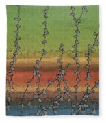 Beside Still Waters Fleece Blanket