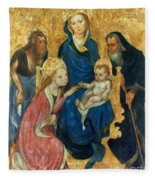 Besozzo: St. Catherine Fleece Blanket