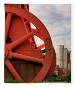 Bessemer Converter - Steel City - Pittsburgh Fleece Blanket