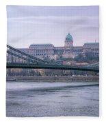Best View Of Buda Castle Fleece Blanket